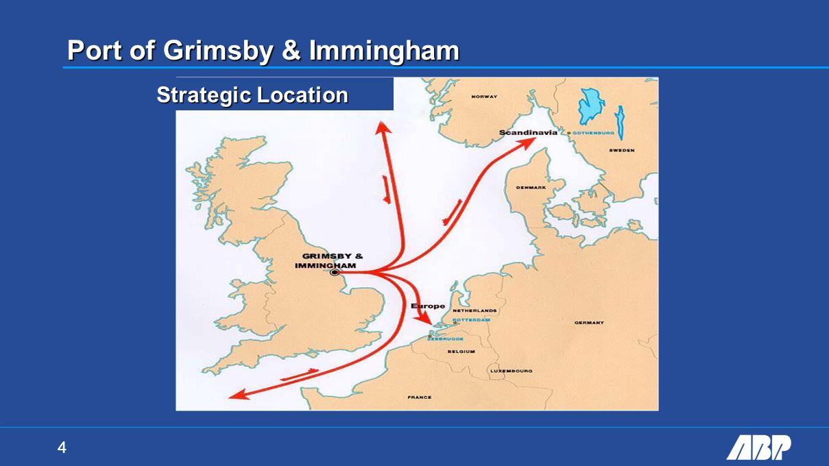 4 Strategic Location Port of Grimsby & Immingham