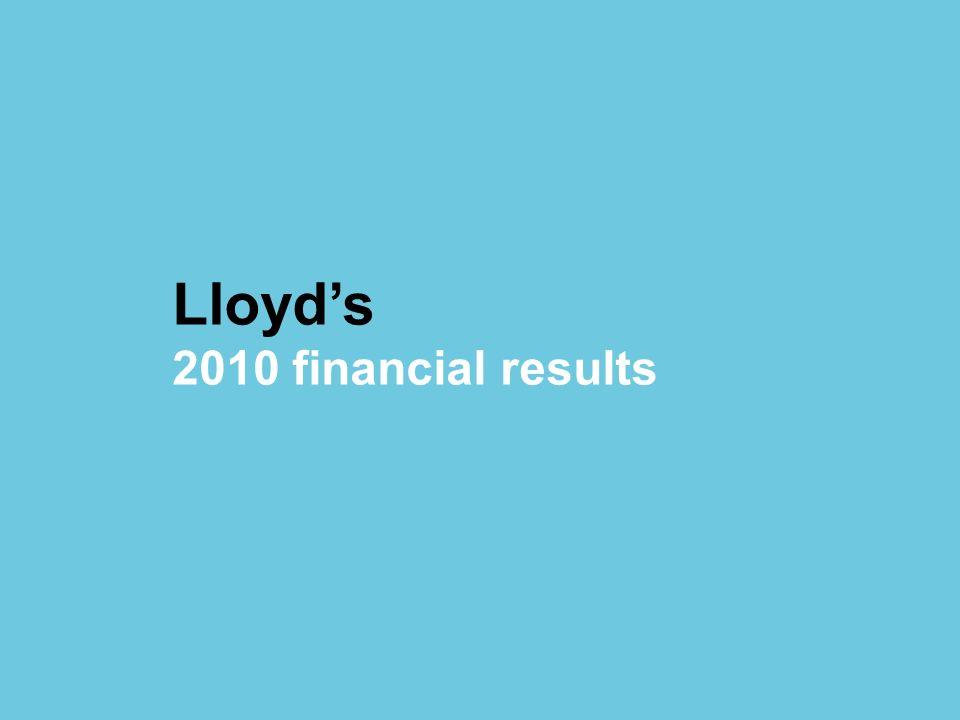 © Lloyds Lloyds 2010 financial results