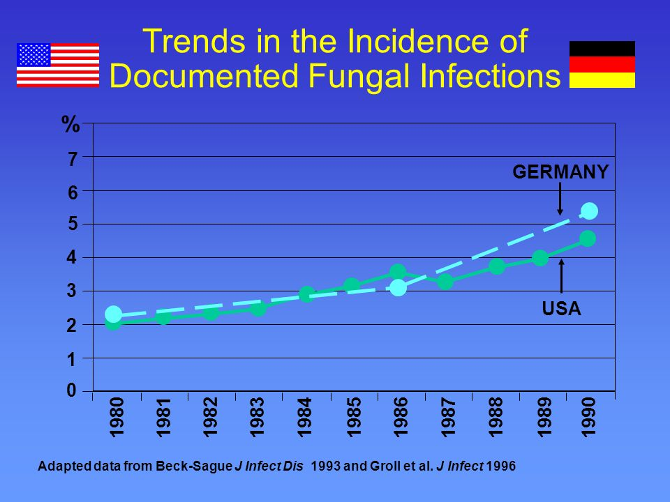 Introduction The global and local incidence of systemic fungal infection