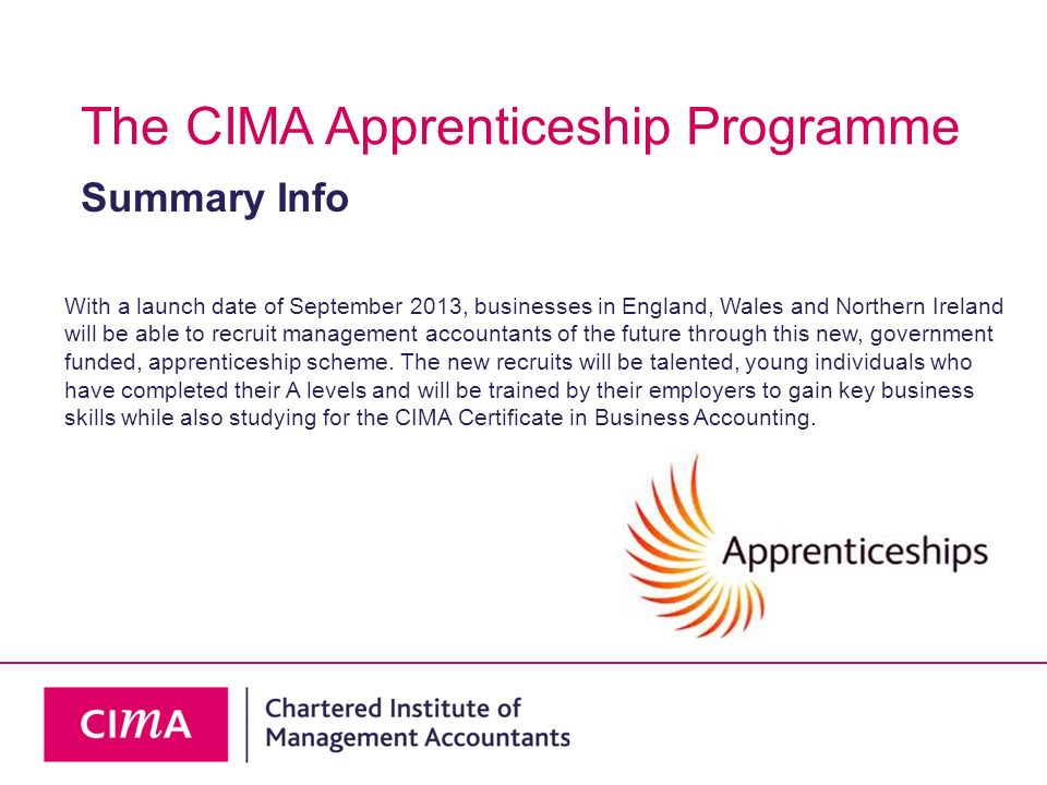 Apprenticeships are work-based training programmes which include a combination of on and off the job learning and development activities.