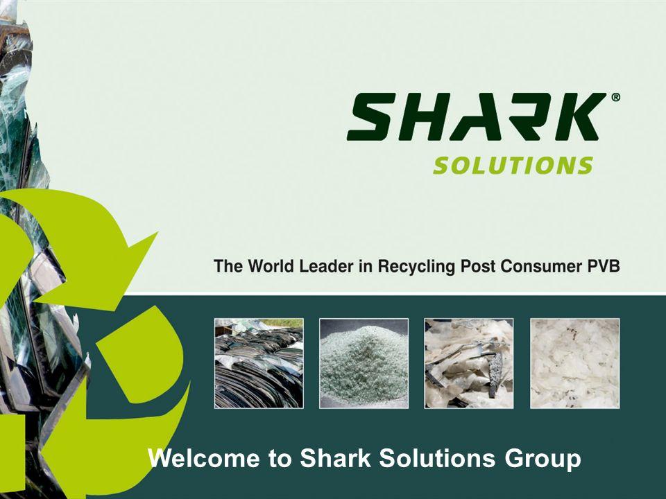 Shark Solutions Advanced Recycled PVB Products – ready-to-use as raw materials PVB Film PVB Pellets PVB Dispersion (liquid)