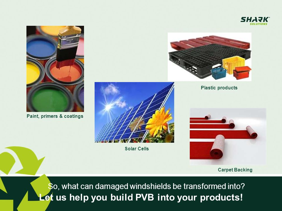Products & Services Water based PVB dispersion for applications as Co-binder in water borne paints and coatings Peelable coating & Primers (e.g.