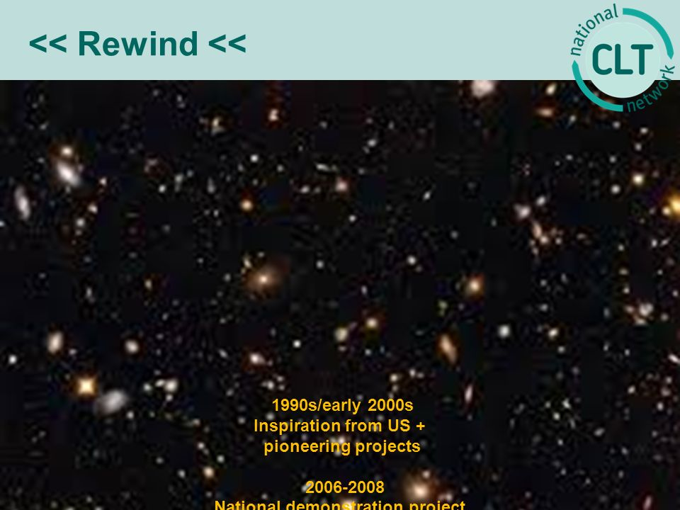 << Rewind << 1990s/early 2000s Inspiration from US + pioneering projects 2006-2008 National demonstration project 2008 Statutory definition in Housing