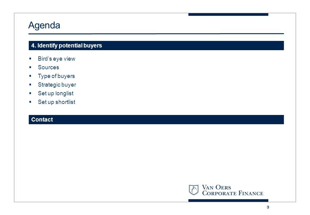 4 1 Introduction Van Oers Corporate Finance B.V.