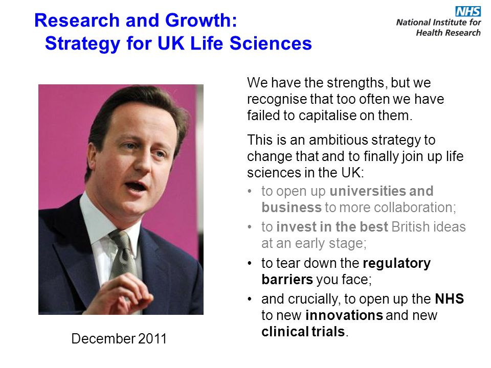 We have the strengths, but we recognise that too often we have failed to capitalise on them.