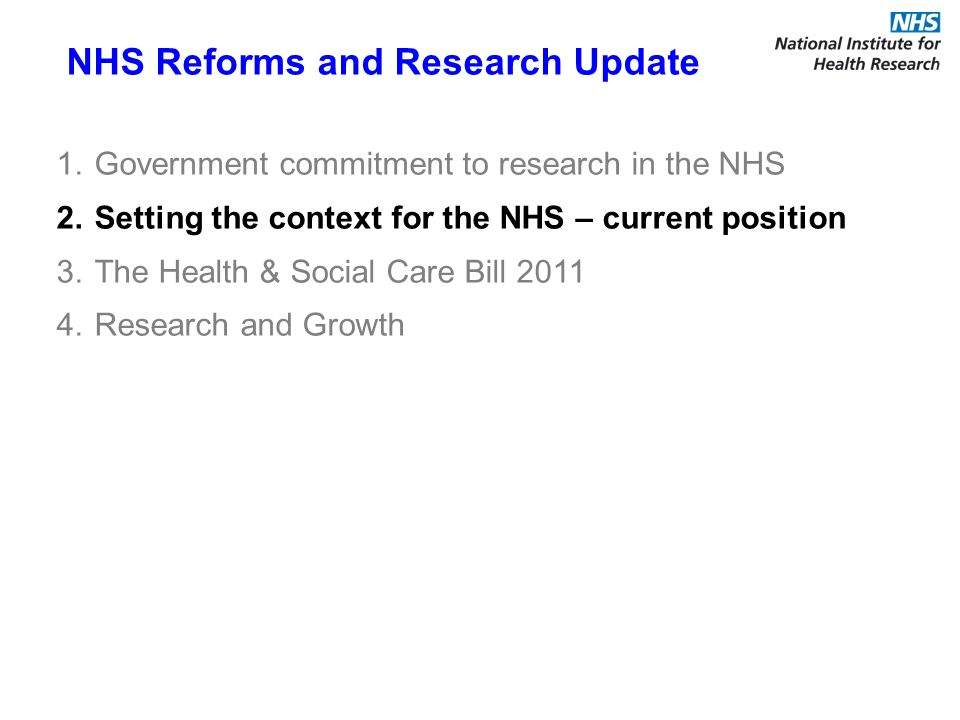 NHS Chief Executives Report