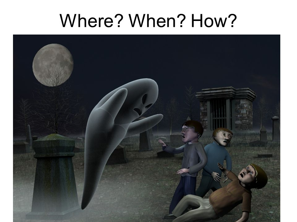 Where? When? How? 7