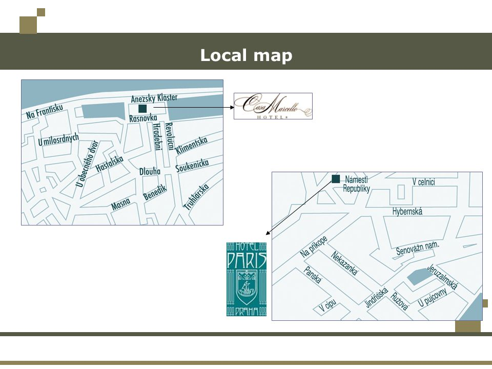 Local map
