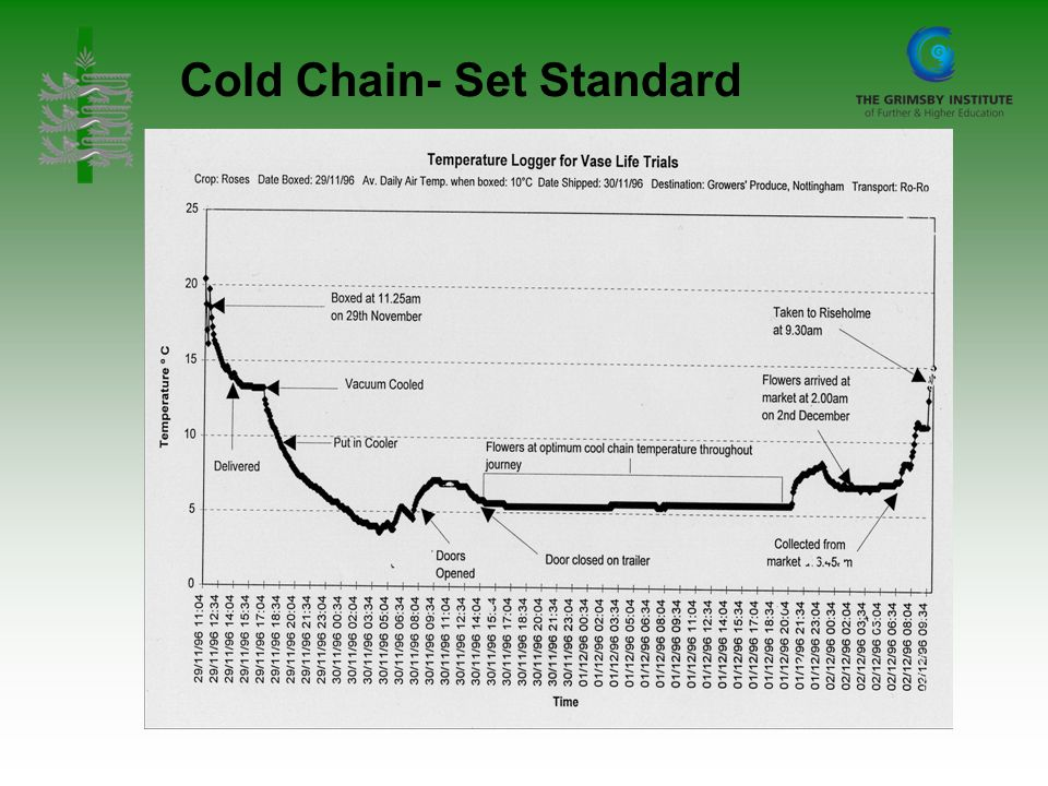 Cold Chain- Set Standard