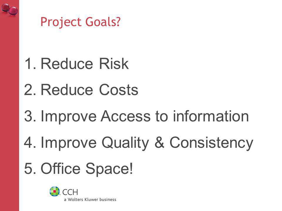 Project Goals.