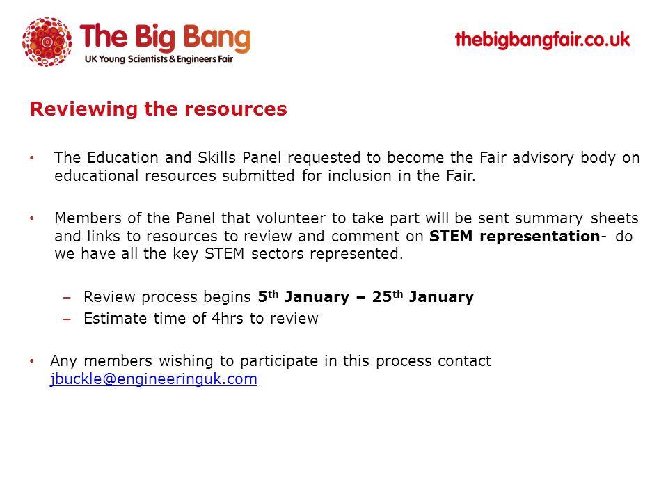www.thebigbangfair.co.uk Questions & Answers