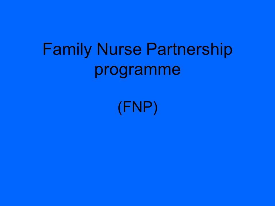 Family Nurse Partnership programme (FNP)
