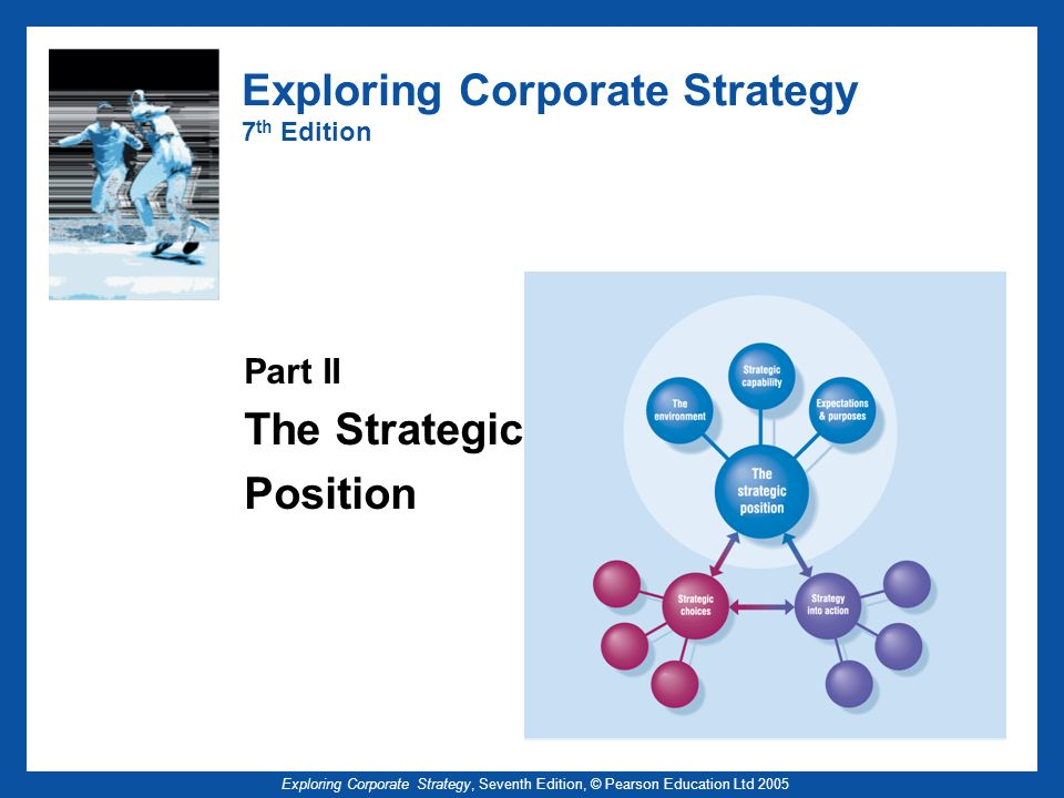 Exploring Corporate Strategy, Seventh Edition, © Pearson Education Ltd 2005 Exploring Corporate Strategy 7 th Edition Part II The Strategic Position