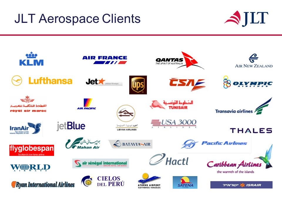 JLT Aerospace Clients