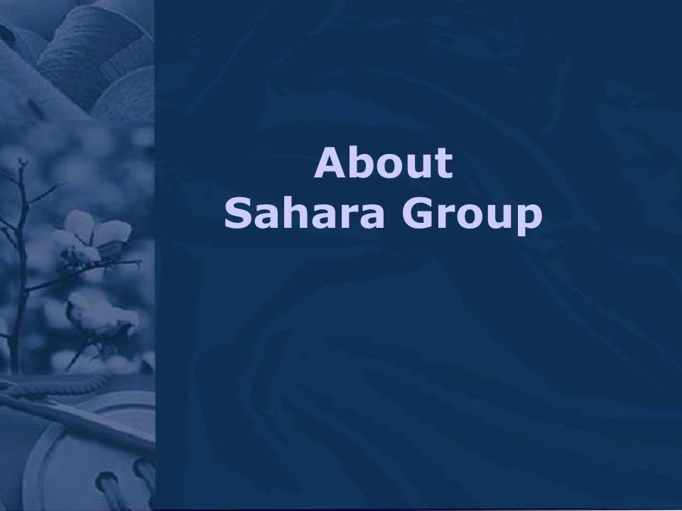 About Sahara Group