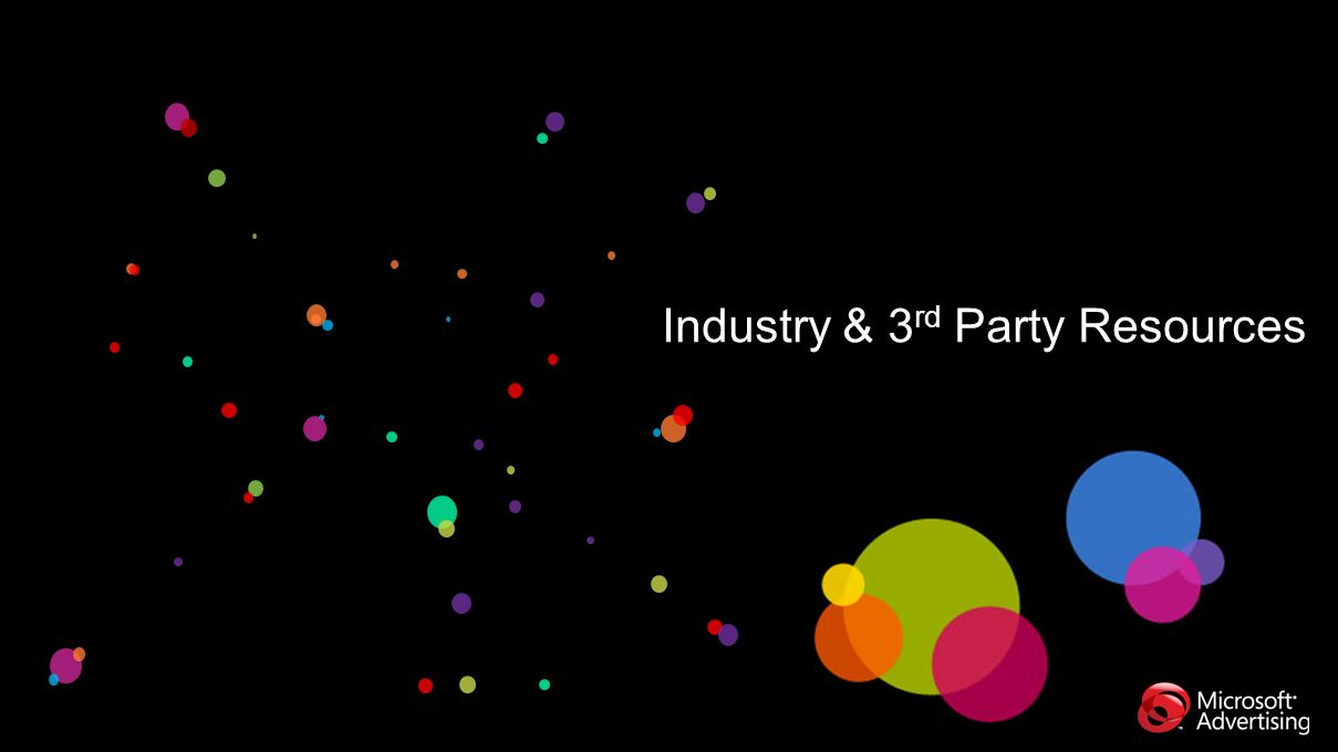 Industry & 3 rd Party Resources