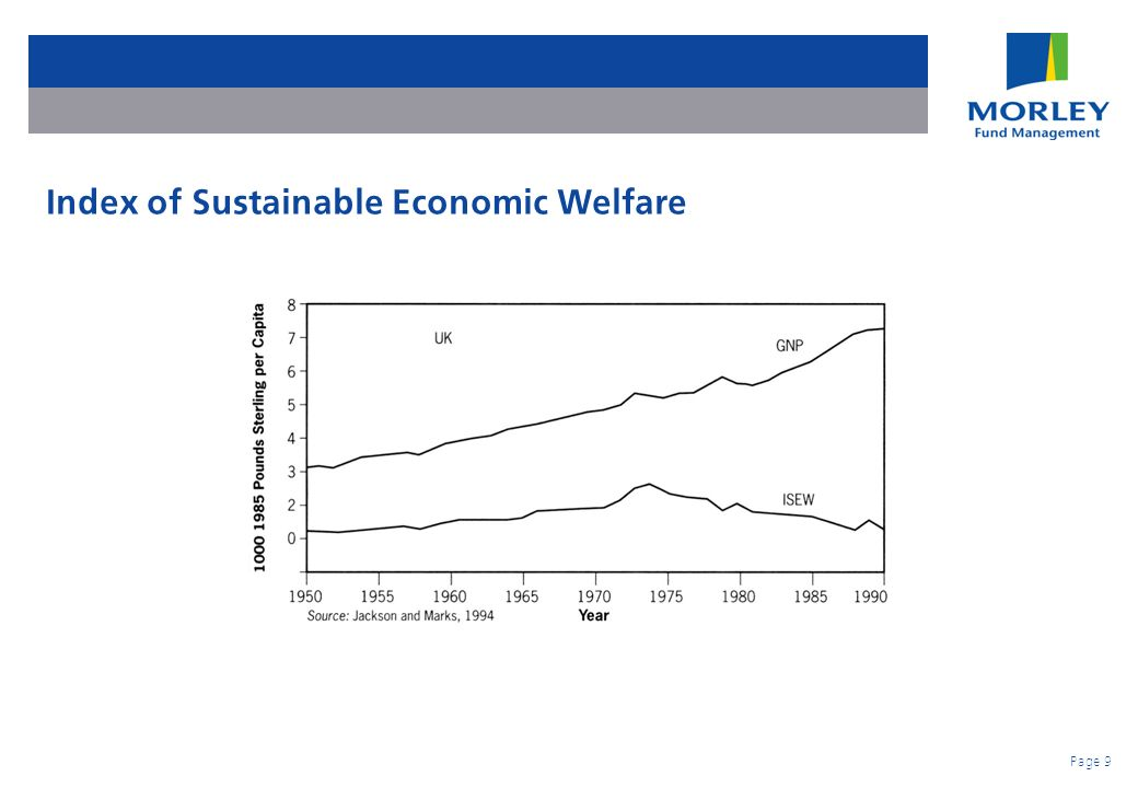 Page 9 Index of Sustainable Economic Welfare