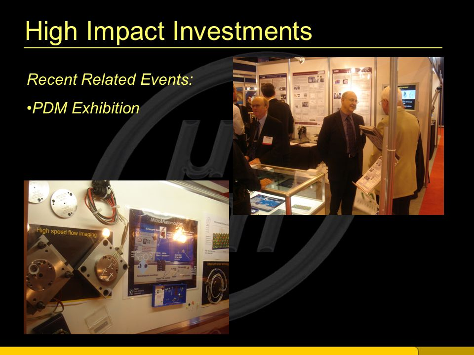 High Impact Investments Recent Related Events: PDM Exhibition
