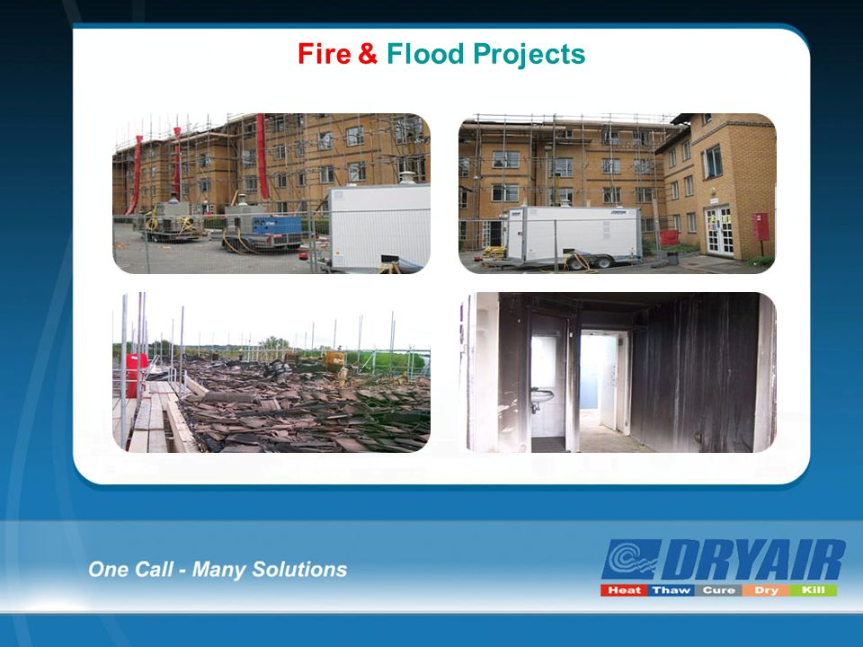 Fire & Flood Projects