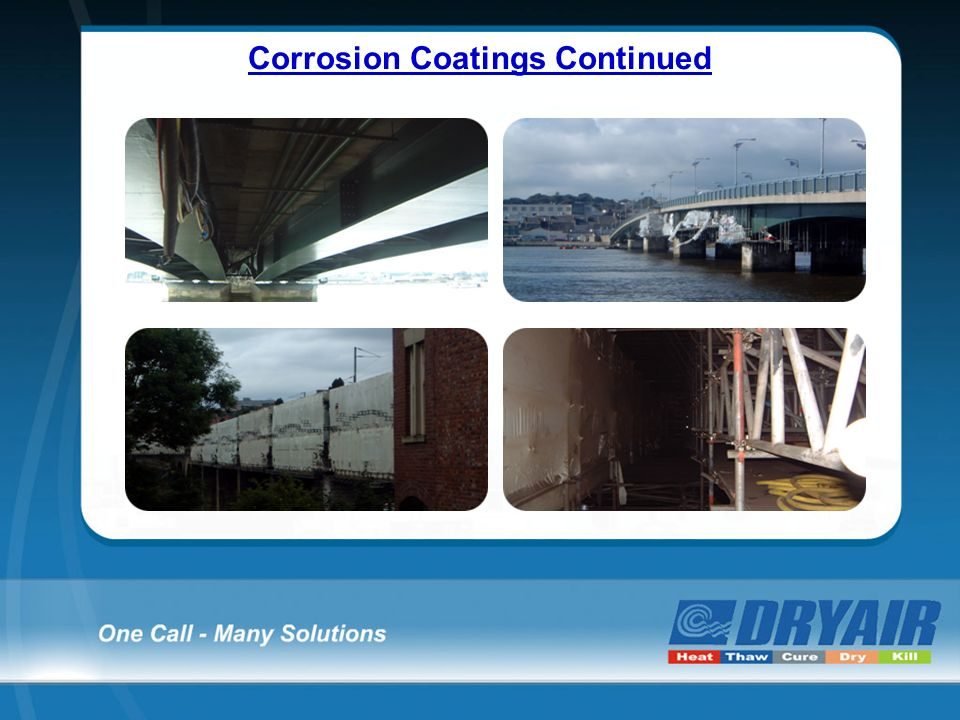 Corrosion Coatings Continued
