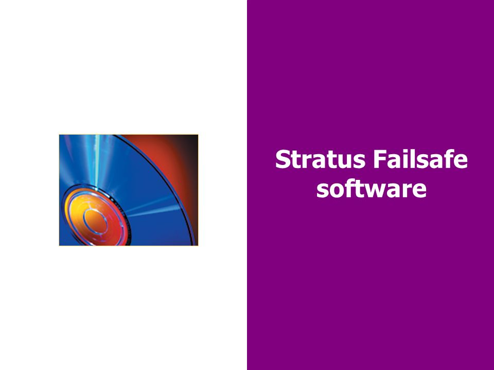 32 Stratus Failsafe software