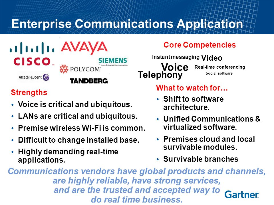 Key Issues What trends are influencing enterprises' vision for collaboration (and communications)? How are vendors addressing the UCC approach. What a