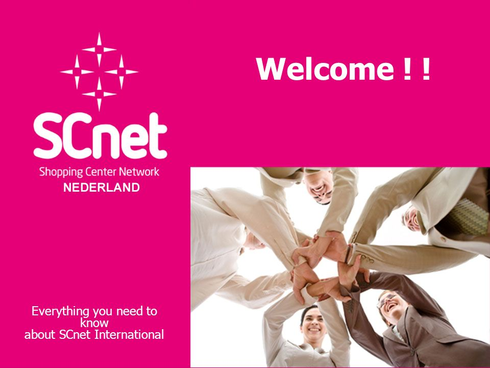 Welcome ! ! Everything you need to know about SCnet International