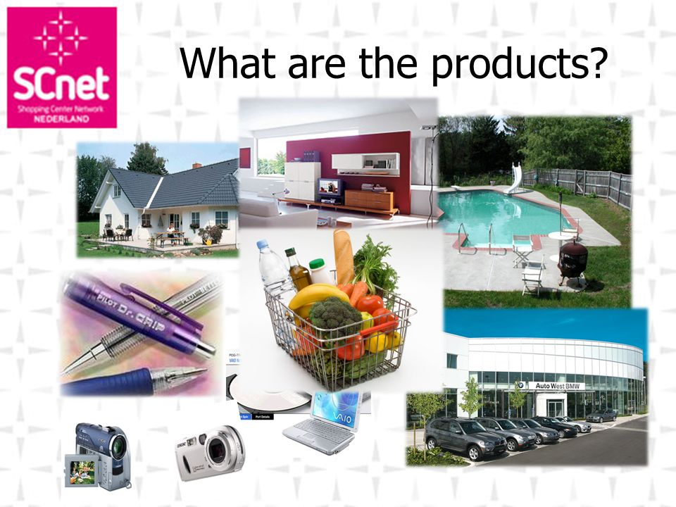 What are the products?