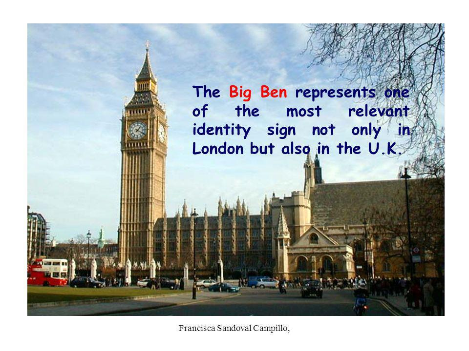 Francisca Sandoval Campillo, The Big Ben represents one of the most relevant identity sign not only in London but also in the U.K.