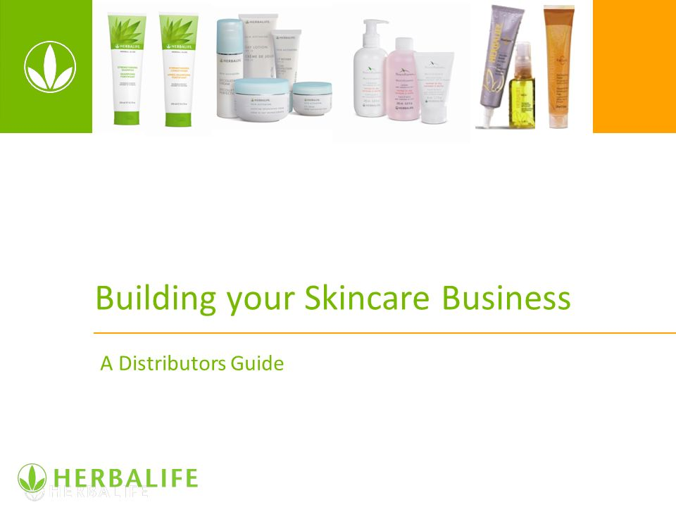 Building your Skincare Business A Distributors Guide