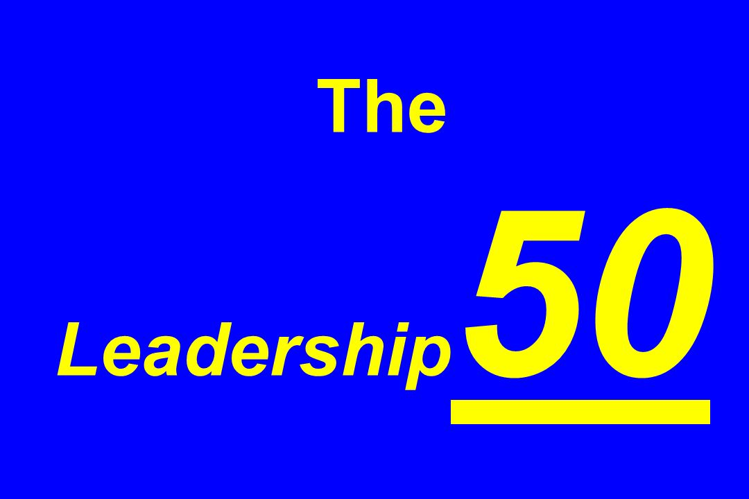 The Leadership 50