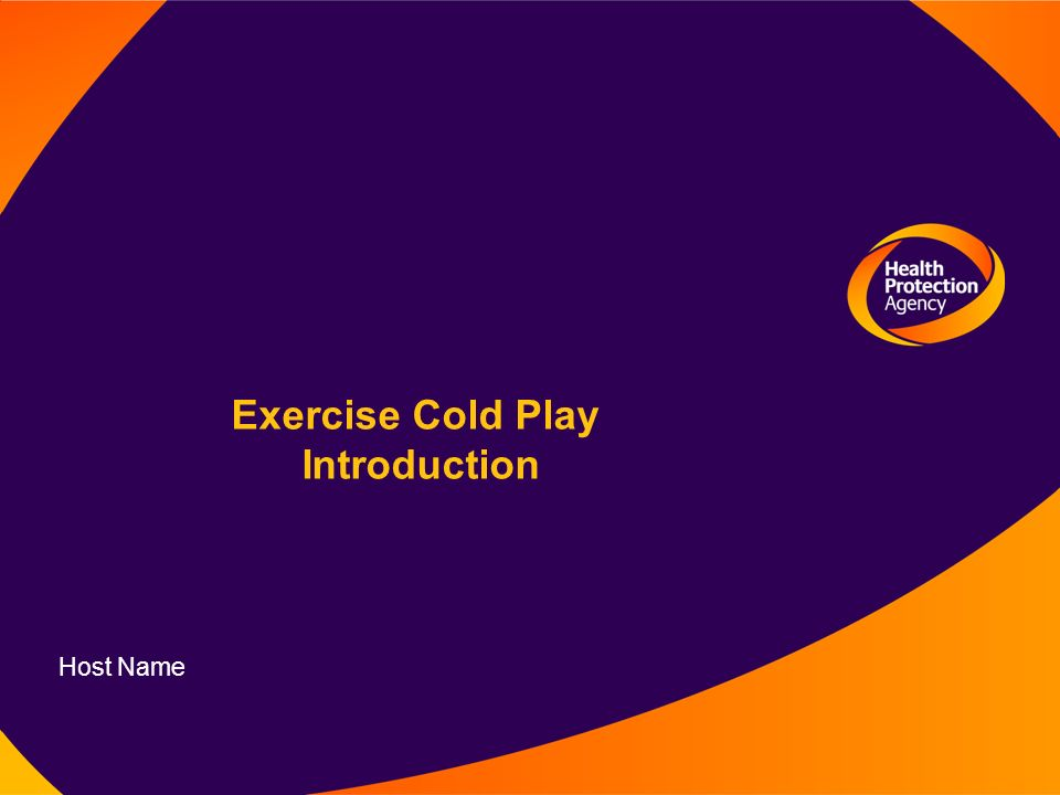 Exercise Cold Play Introduction Host Name