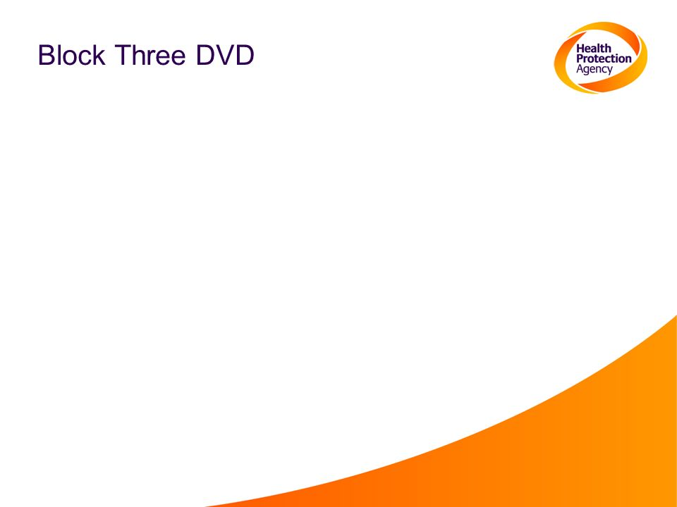 Block Three DVD