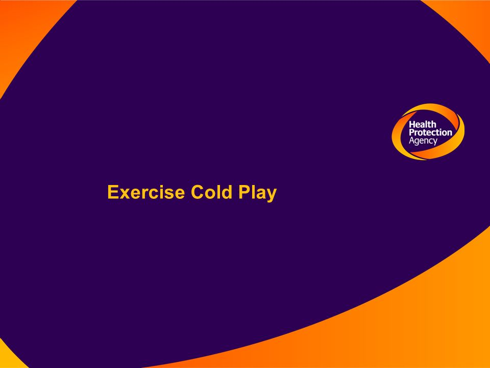 Exercise Cold Play