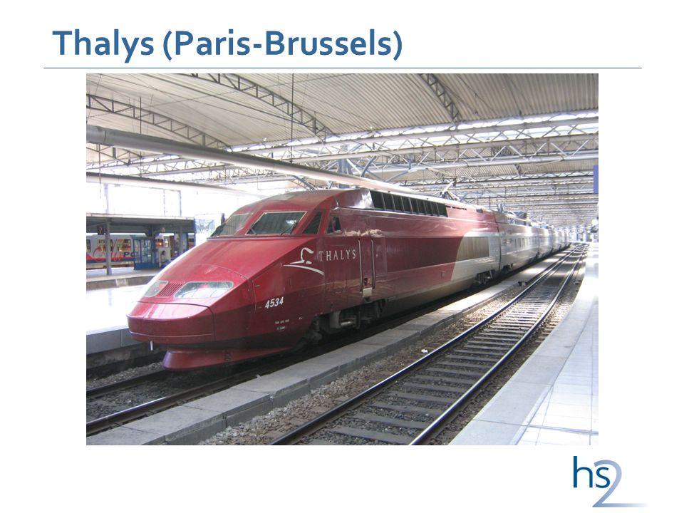 Thalys (Paris-Brussels)