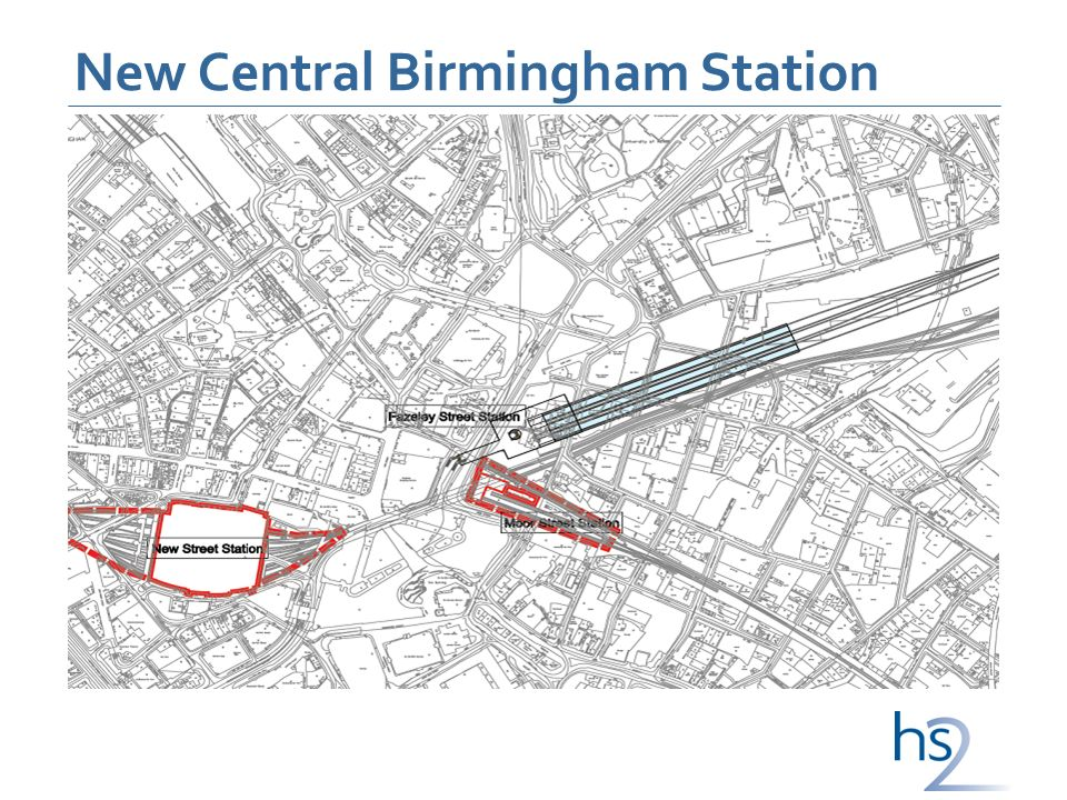 New Central Birmingham Station