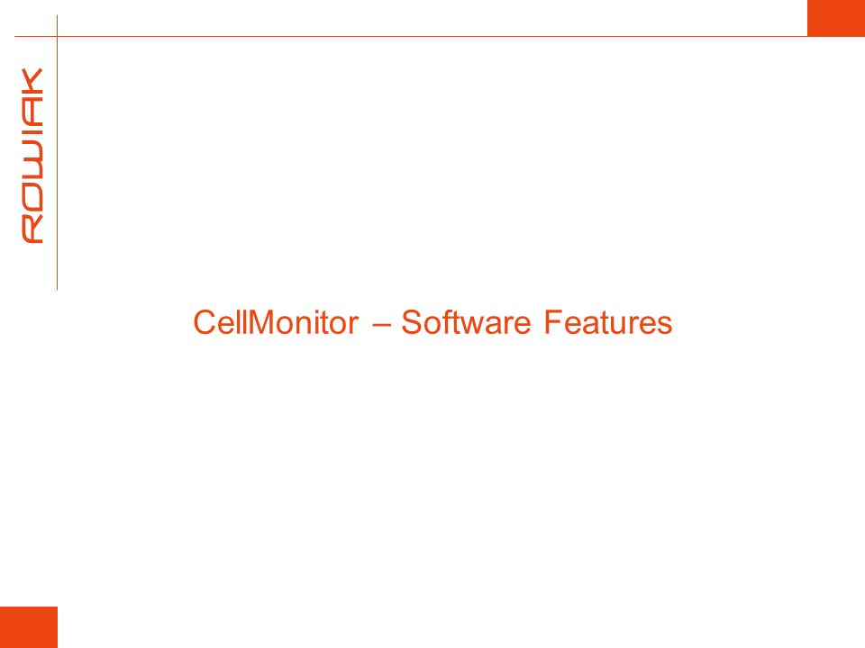 Standard Software Features Analysis of cell confluency Assessment of number of cells or confluent colonies Reporting on position, roundness, and diameter of cells or cell colonies in the field of view User adjustable cell recognition parameters Standard software has been programmed to automatically recognize cells with certain optical performance i.e.