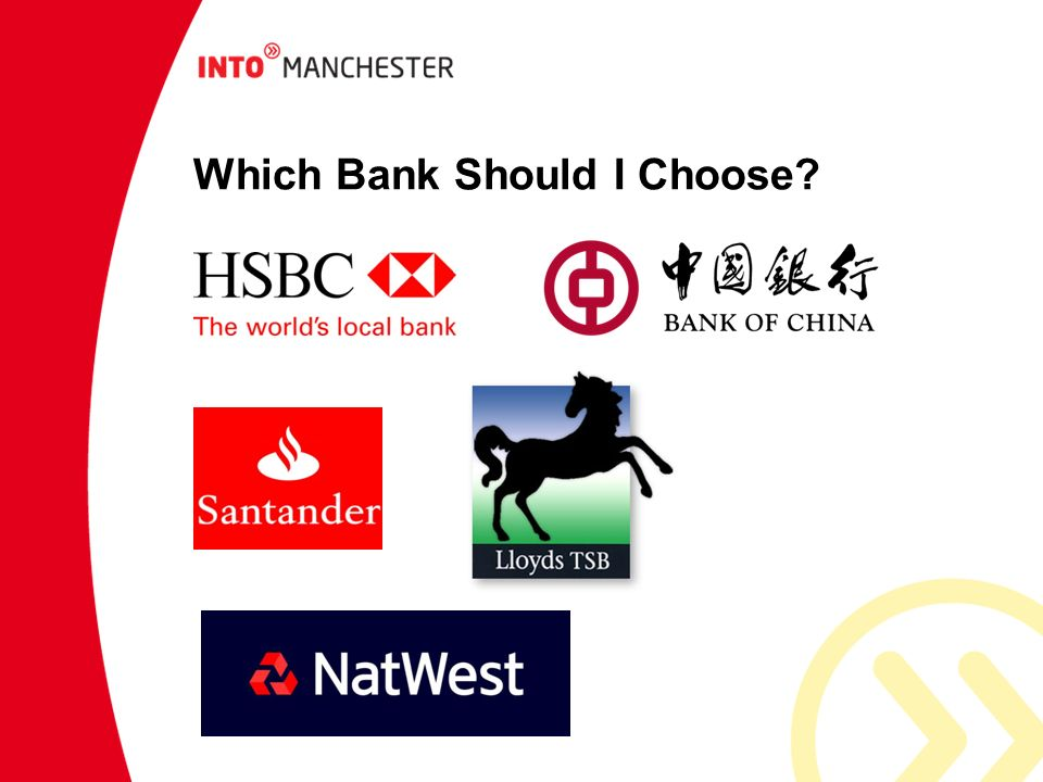 Which Bank Should I Choose?