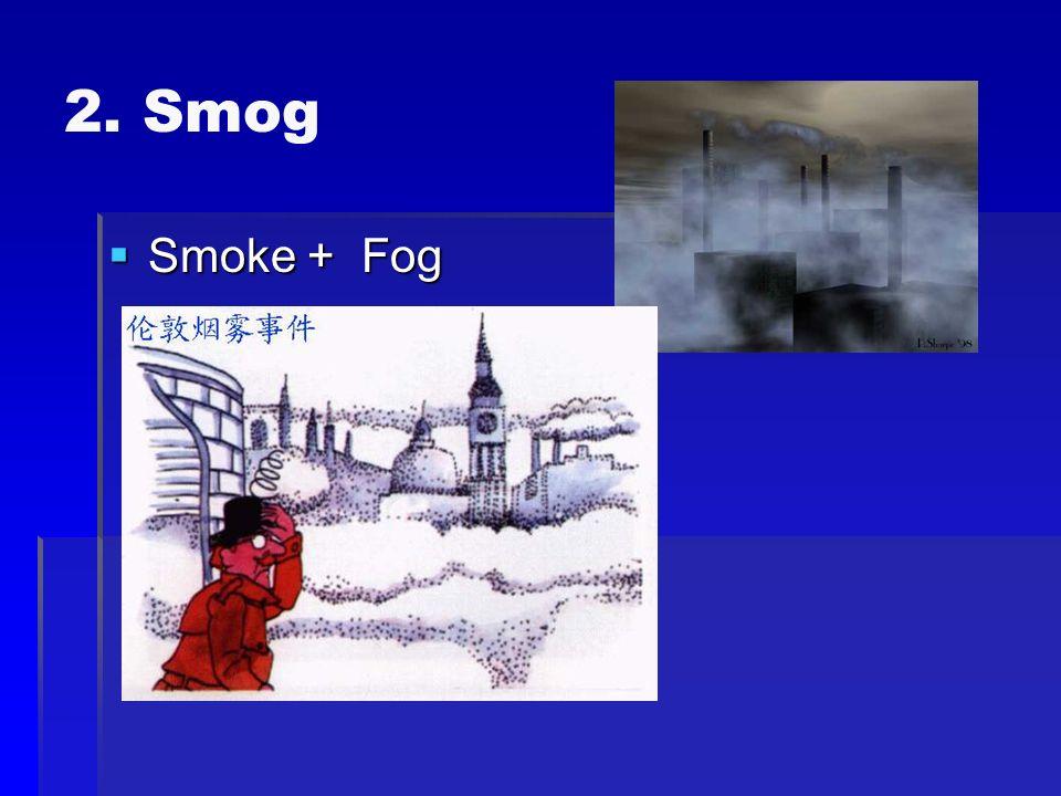2. Smog Smoke + Fog Smoke + Fog