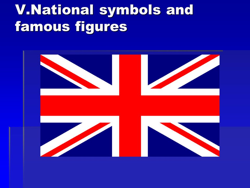 V.National symbols and famous figures