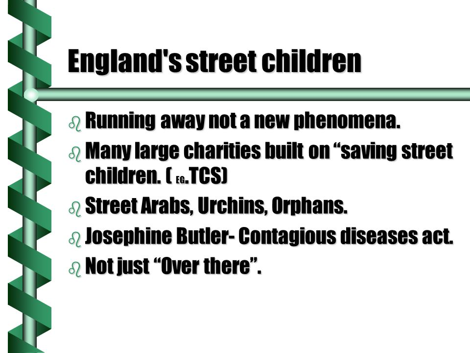 Not just a number…….b Children in Care. b Children who are bullied.
