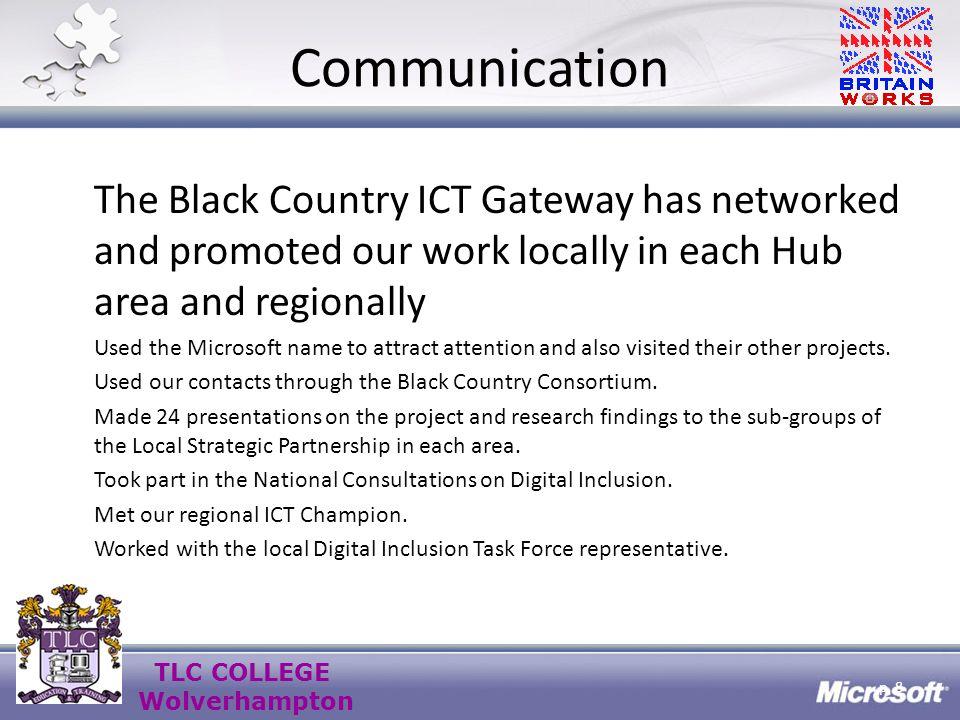 TLC COLLEGE Wolverhampton TLC College Wolverhampton Hub