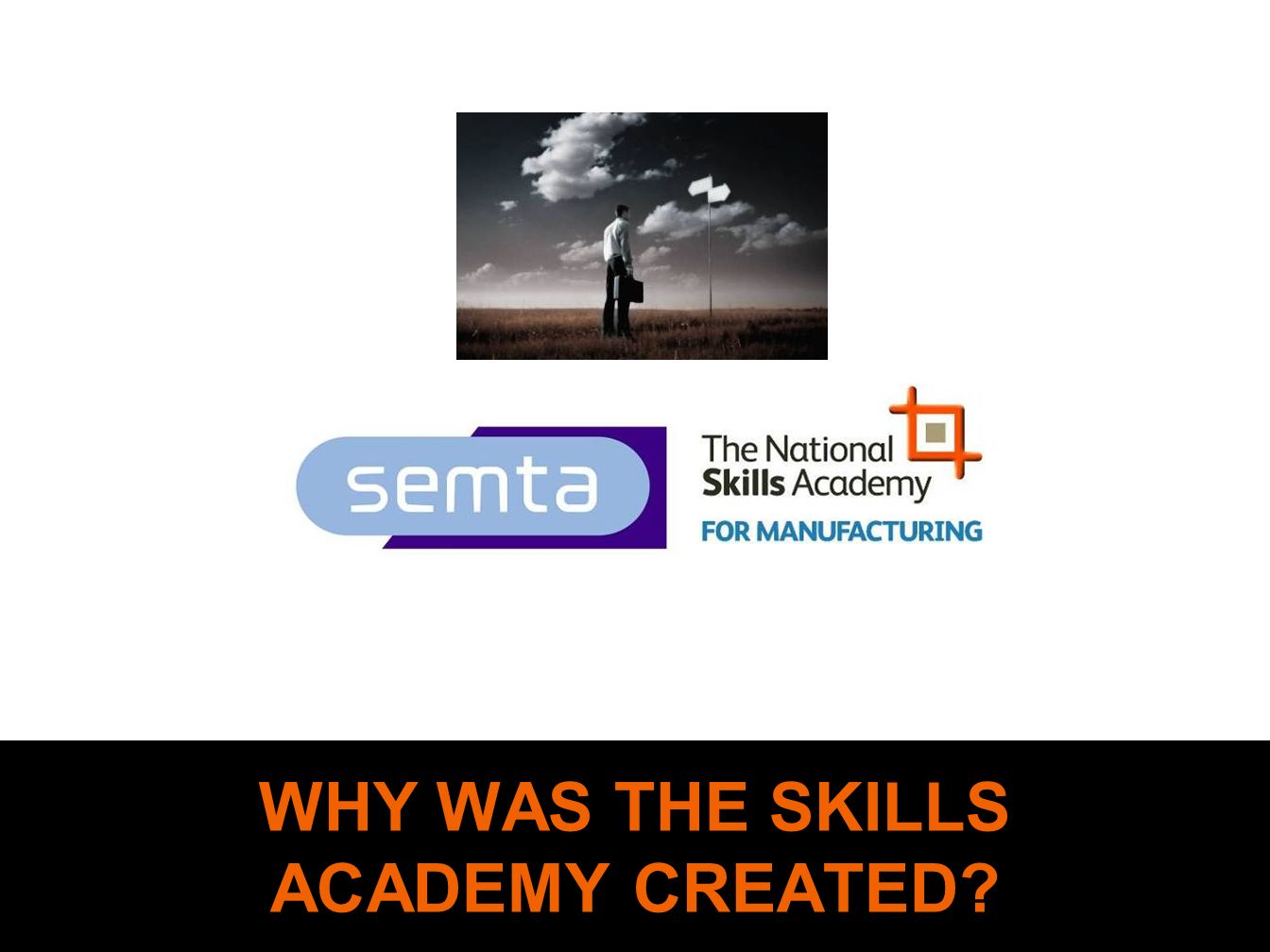 WHY WAS THE SKILLS ACADEMY CREATED