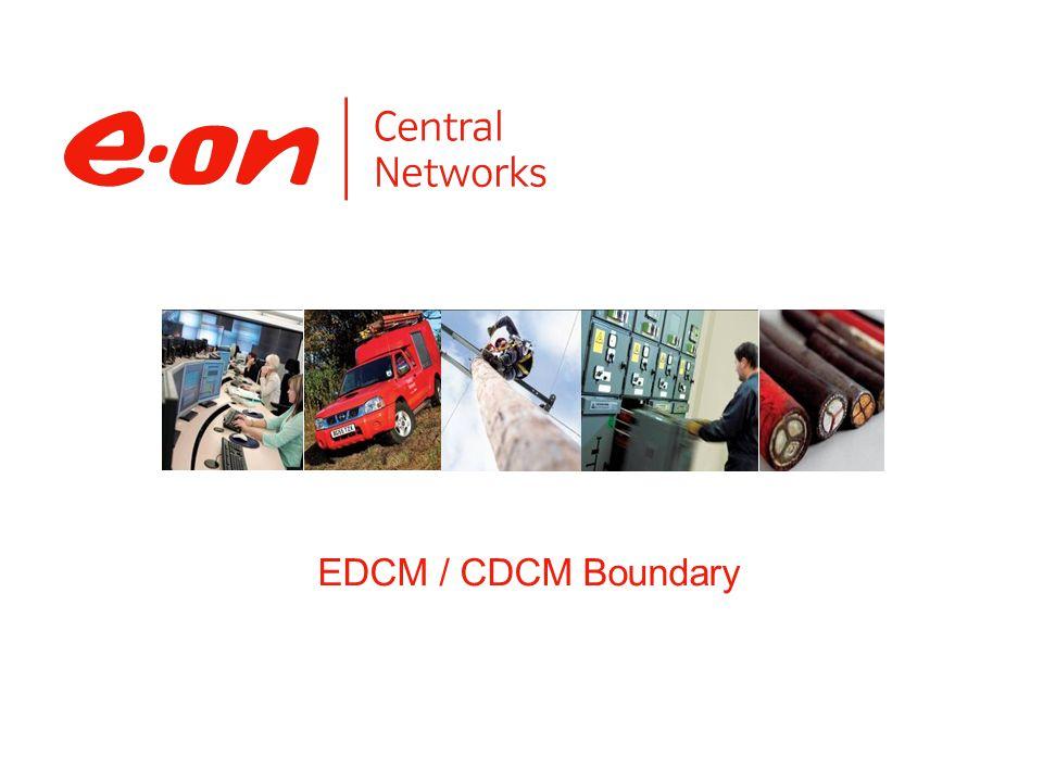 EDCM / CDCM Boundary