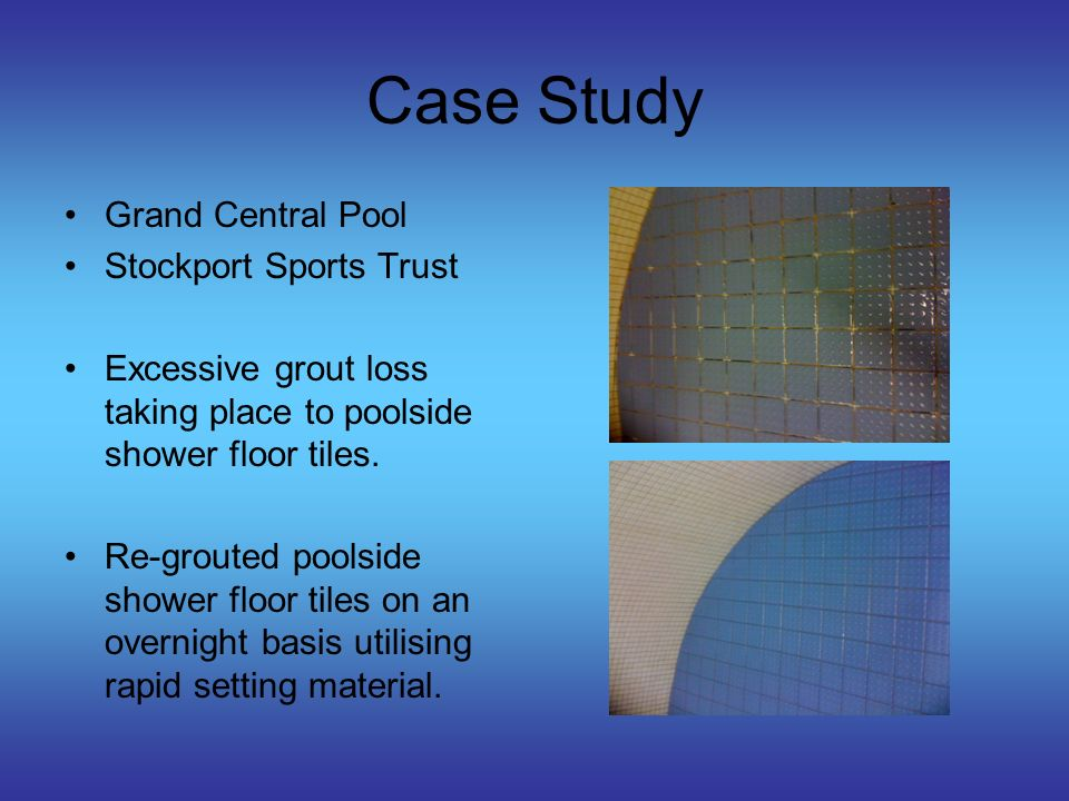 Case Study Clarendon Fit City Urban Vision Partnership Varying degrees of tile de-lamination to disabled change floor tiles with some screed issues due to ponding of water and poor drainage.