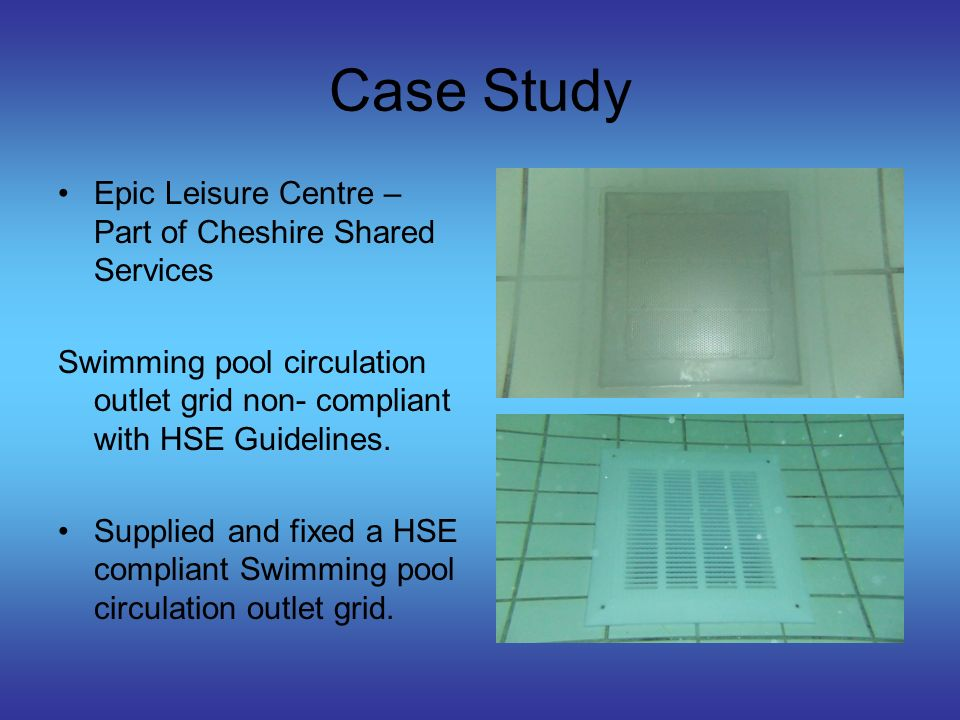 Case Study Ramada Jarvis Failure of wall tiles to the swimming pool curved wall.