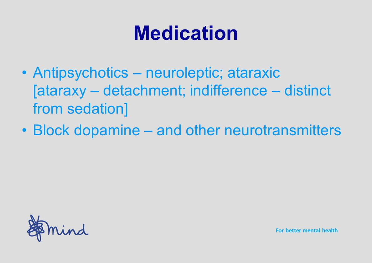 Alternative therapies Help with adverse effects Help with withdrawal help with symptoms.