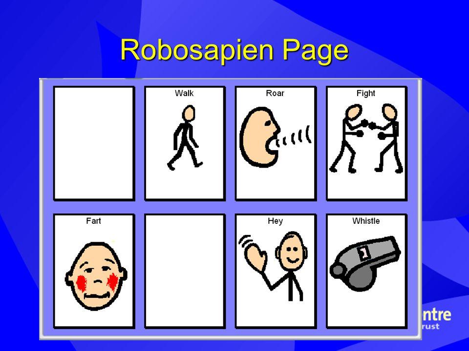 Robosapien Page