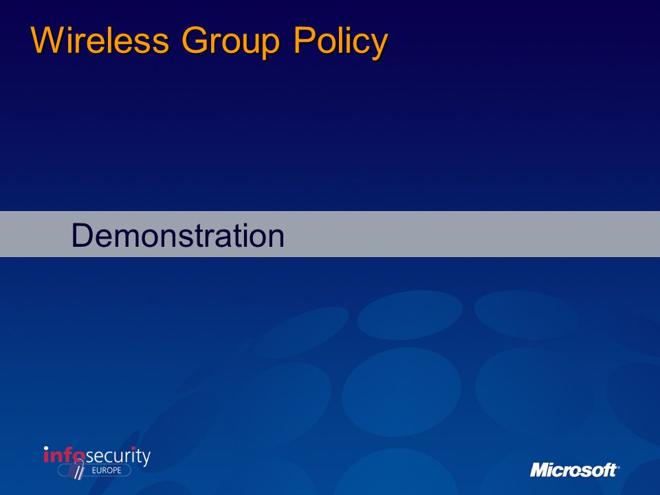 Best Practices: Management Use the Wireless Network (IEEE 802.11) Policies Group Policy settings to automatically configure wireless clients running W