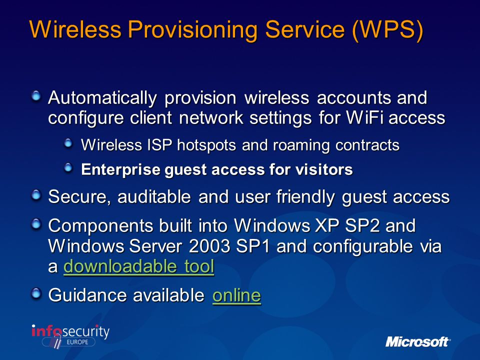 Wireless Group Policy Demonstration
